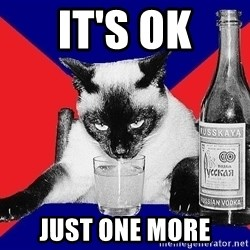 Alco-cat - IT'S OK JUST ONE MORE
