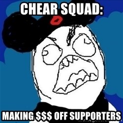 runDisney Rage - chear squad: making $$$ off supporters