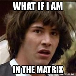 Conspiracy Keanu - what if i am in the matrix