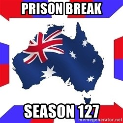 australia - prison break season 127