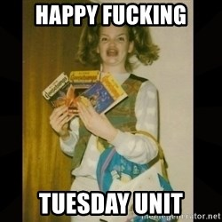 Gersberms Girl - Happy fucking Tuesday unit
