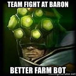 Master Yi - team fight at baron better farm bot