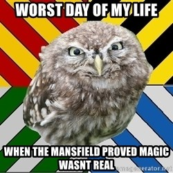 JEALOUS POTTEROMAN - worst day of my life when the mansfield proved magic wasnt real