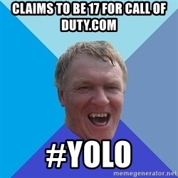 YAAZZ - claims to be 17 for call of duty.com #yolo