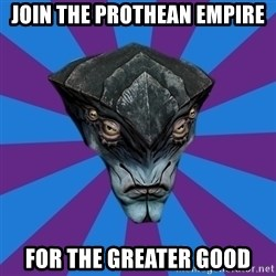 Javik the Prothean - join the prothean empire for the greater good