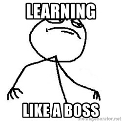 Like A Boss - learning like a boss