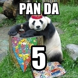 Happy Birthday Panda - pan da 5