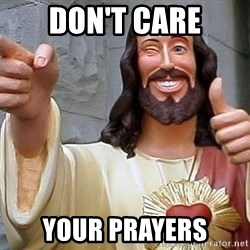 Hippie Jesus - Don't CARE YOUR PRAYERS