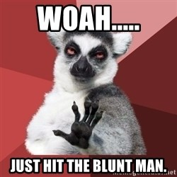 Chill Out Lemur - Woah..... just hit the blunt man.