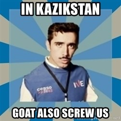 CensoChile - IN KAZIKSTAN GOAT ALSO SCREW US