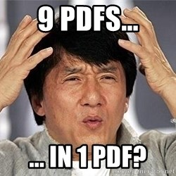 Confused Jackie Chan - 9 PDFs... ... in 1 pdf?