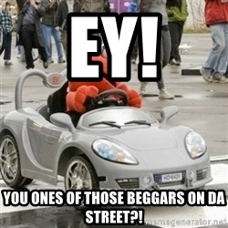 AVC Elmo - ey! you ones of those beggars on da street?!