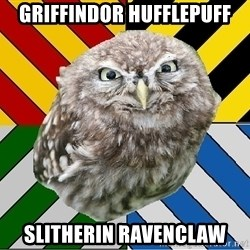 JEALOUS POTTEROMAN - griffindor hufflepuff slitherin ravenclaw