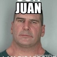 son i am disappoint - Juan