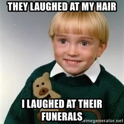 Death Child - they laughed at my hair i laughed at their funerals