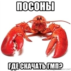 Unable to Relax and Have Fun Lobster - Посоны где скачать гмп?