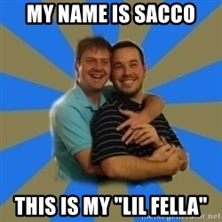 """Stanimal - My name is sacco This is my """"lil fella"""""""