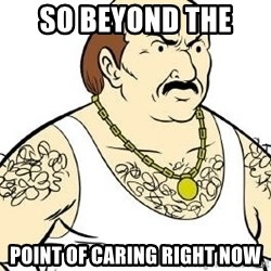 Aqua Teen Carl - so beyond the  point of caring right now