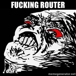 Rage Face - FUCKING ROUTER