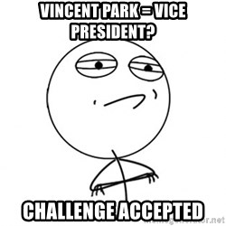 Challenge Accepted HD - vincent Park = vice president? Challenge Accepted