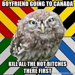 JEALOUS POTTEROMAN - boyfriend going to canada kill all the hot bitches there first