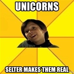 es bakans - Unicorns  Selter Makes them real