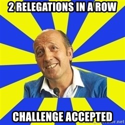 lotina - 2 relegations in a row challenge accepted
