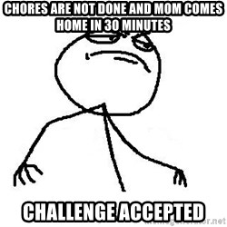 Like A Boss - Chores are not done and mom comes home in 30 minutes challenge accepted