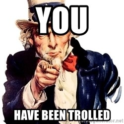 Uncle Sam Point - YOU HAVE BEEN TROLLED