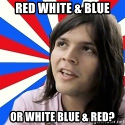 paul-despedida - RED WHITE & BLUE OR WHITE BLUE & RED?