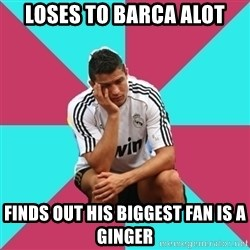 sadcristiano - loses to barca alot finds out his biggest fan is a ginger