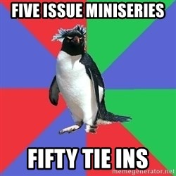 Comic Book Addict Penguin - Five Issue Miniseries fifty tie ins