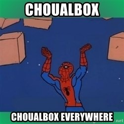 60's spiderman - CHOUALBOX CHOUALBOX EVERYWHERE