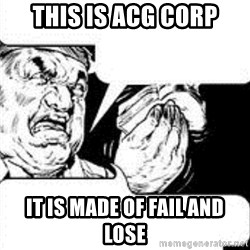 sandwich chef - This is ACG Corp It is made of fail and Lose