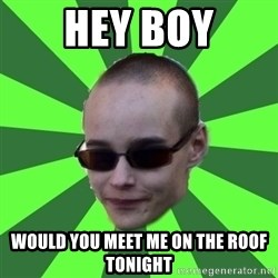 Katto-Hieroja - HEY BOY Would you meet me on the roof tonight