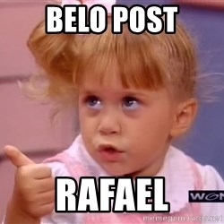 thumbs up - belo post rafael