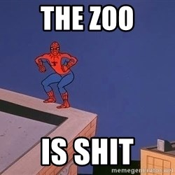 Spiderman12345 - the zoo is shit