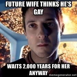 Rory Williams - Future wife thinks he's gay waits 2,000 years for her anyway
