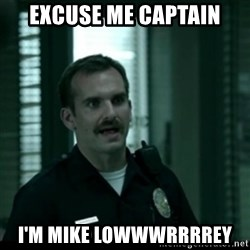 Cutty the Cop - excuse me captain i'm mike lowwwrrrrey