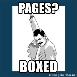 Freddy Mercury - Pages? Boxed