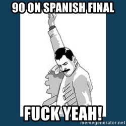 Freddy Mercury - 90 on spanish final fuck yeah!