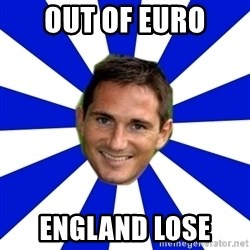 lampard - OUT OF EURO ENGLAND LOSE