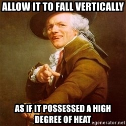 Joseph Ducreux - Allow it to fall vertically As if it possessed a high degree of heat