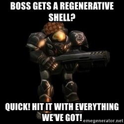 NOTD Noob - boss gets a regenerative shell? Quick! hit it with everything we've got!
