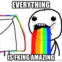 Puking Rainbows - Everything is fking amazing