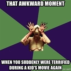 Pan's Labyrinth1 - tHAT AWKWARD MOMENT WHEN YOU SUDDENLY WERE TERRIFIED DURING A KID'S MOVIE AGAIN