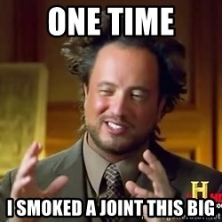 Giorgio A Tsoukalos Hair - ONE TIME I SMOKED A JOINT THIS BIG
