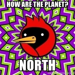Omsk Crow - how are the planet? north