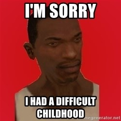 carl johnson - i'm sorry i had a difficult childhood