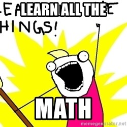clean all the things - lEARN ALL THE MATH